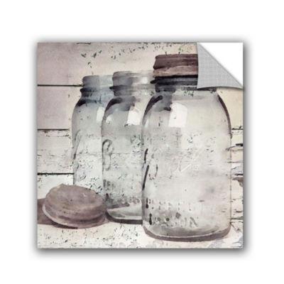 Vintage Jars II Removable Wall Decal