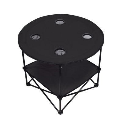 Natico Portable Picnic Folding Patio Side Table