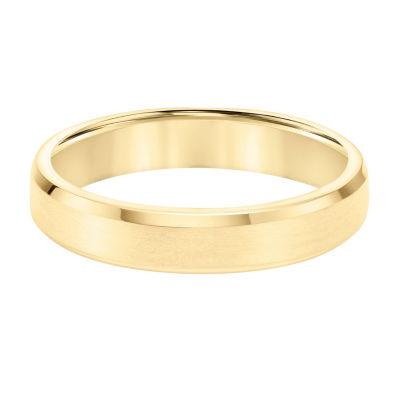 Unisex 4.5mm 14K Gold Wedding Band