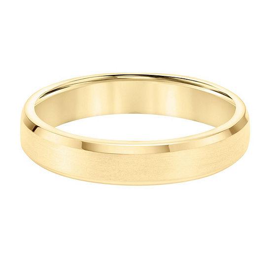4.5MM 14K Gold Wedding Band