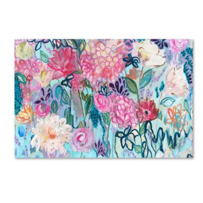 Trademark Fine Art Carrie Schmitt Enough Is EnoughGiclee Canvas Art