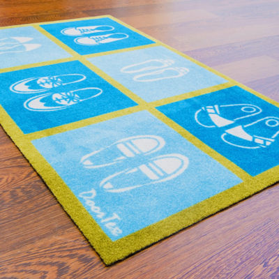 Doortex Short Kitchen Runner Mat Salad Design
