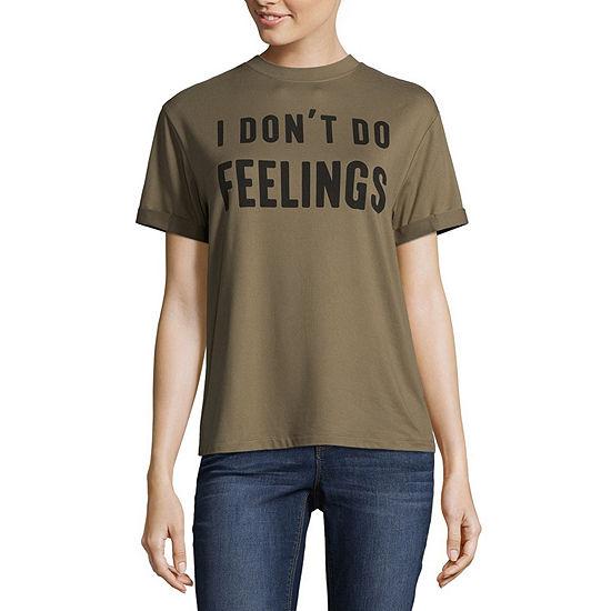 """""""I Don't Do Feelings"""" Tee - Juniors"""