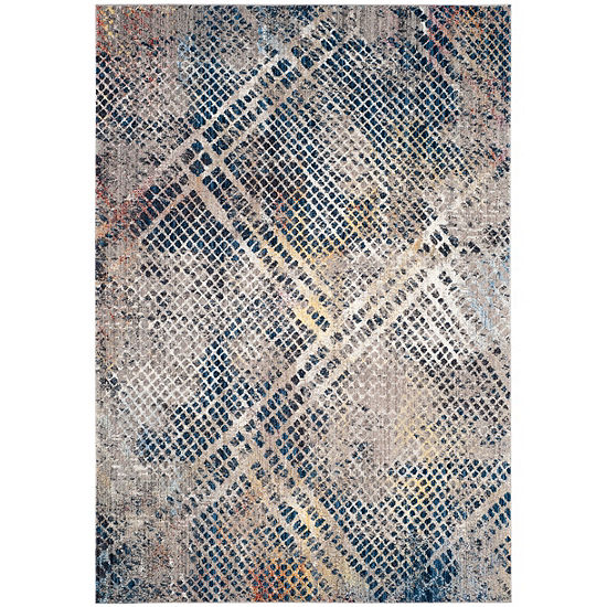 Safavieh Monray Collection Lucetta Geometric Square Area Rug