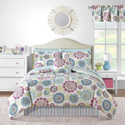 Brinley Floral Complete Bedding Set with Sheets