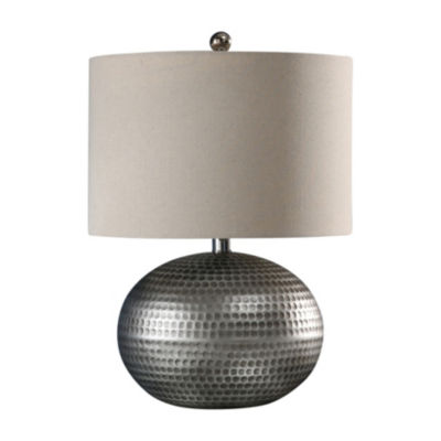 Arie Pewter Finish Table Lamp