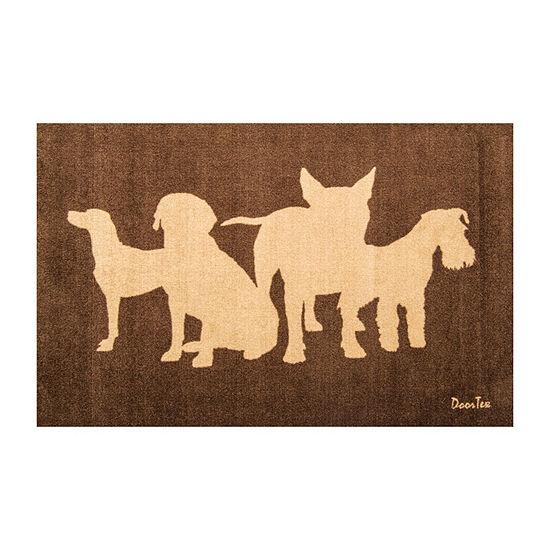 Doortex Dog Design Wash Room Mat