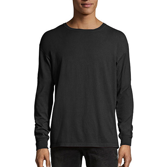 Hanes Men's ComfortWash Garment-Dyed Long Sleeve Tee