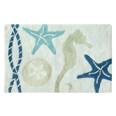 Bacova Guild Nautical Bath Rug