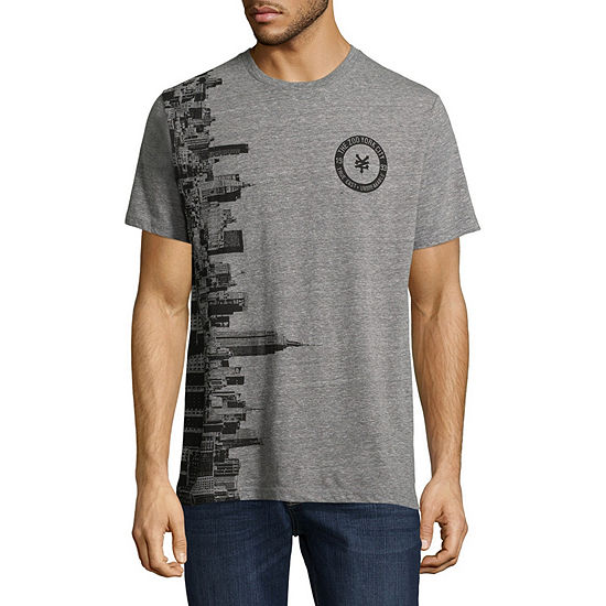 Zoo York Mens Crew Neck Short Sleeve Graphic T-Shirt