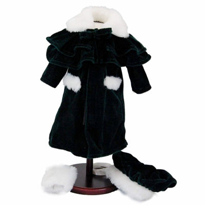 The Queen's Treasures 1914 Winter 3-pc. Coat; 18 Inch Dolls Clothes