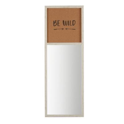 Intelligent Design Be Wild Cork Board and Mirror