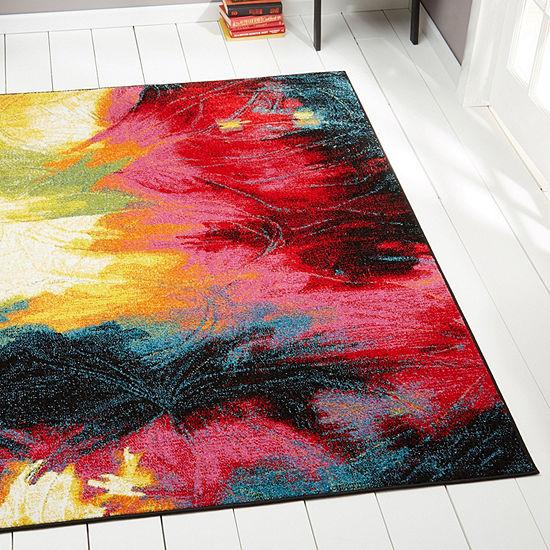 Home Dynamix Splash Mondrian Abstract RectangularRug