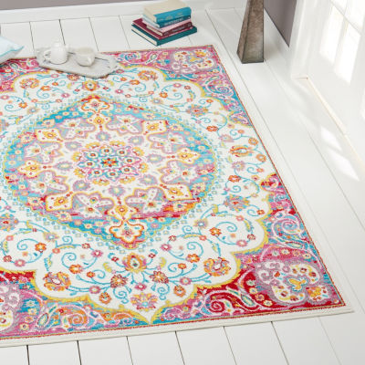 Home Dynamix Splash Masson Medallion Rectangular Area Rug
