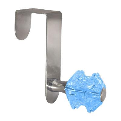 Over The Door Hook With Crystal Acrylic Knob