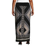 Alyx Womens Maxi Skirt - Plus