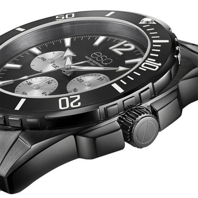 Esq Mens Black Bracelet Watch-37esq024001a