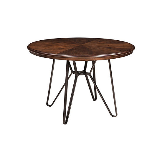 Signature Design by Ashley® Collins Round Wood-Top Dining Table