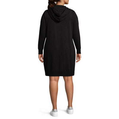 "Xersion ""Bold Babe"" Hooded Dress - Plus"