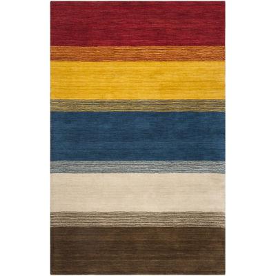 Safavieh Himalaya Collection Ilarion Striped AreaRug