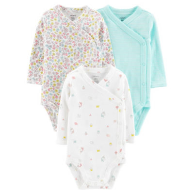 Carter's 3-Pk. Little Baby Basics Bodysuit - Baby Girls