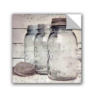 Vintage Jars II Removable Wall Decal