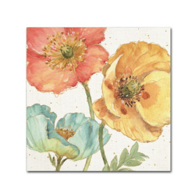 Trademark Fine Art Lisa Audit Spring Softies III Giclee Canvas Art