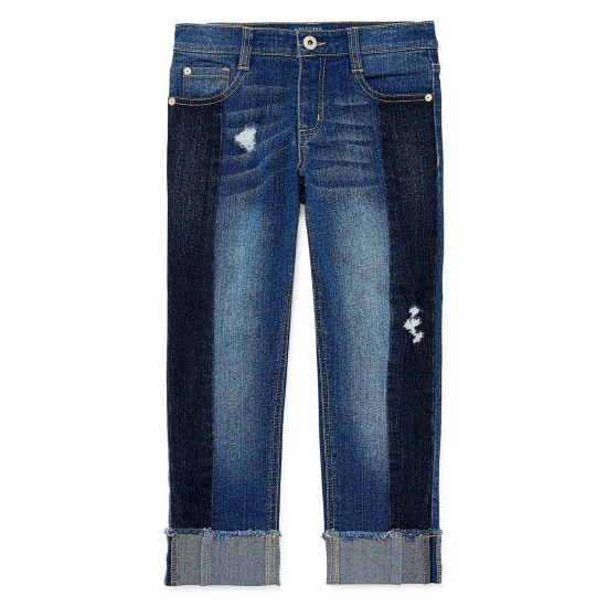 Arizona Girlfriend Cropped Jean Girls 4-16 and Plus