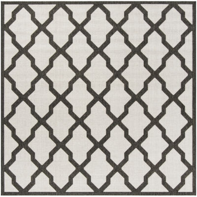 Safavieh Linden Collection Neasa Geometric SquareArea Rug