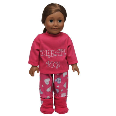 The Queen's Treasures Dream Big PJs & Shoes; 18 Inch Doll Clothes
