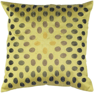 Rizzy Home Constantine Circles Decorative Pillow