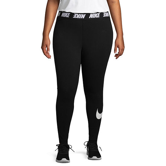 Nike Womens High Waisted Legging-Plus