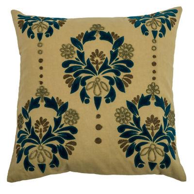 Rizzy Home Seamus Floral Decorative Pillow