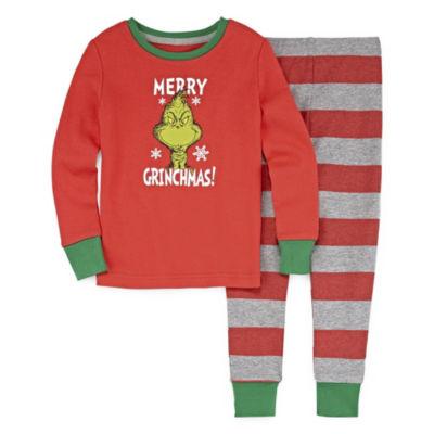 Grinch 2pc Pajama Set- Toddler Girls