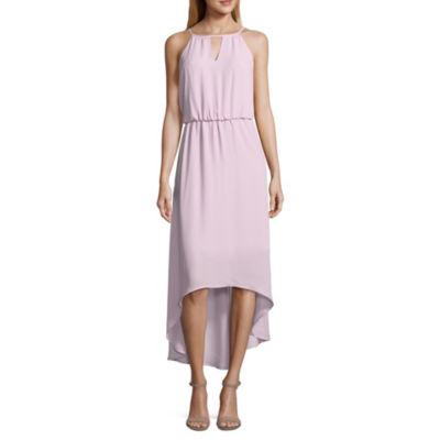 Belle + Sky Smocked Waist Maxi Dress