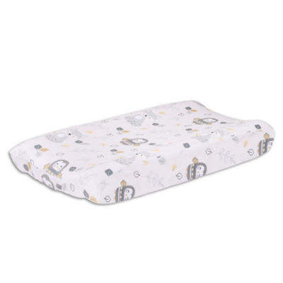 Little Haven Woodland Friends Knit Bassinet Pad