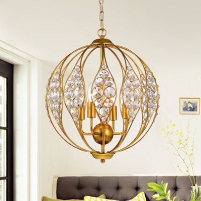 Codina Antique Gold Leaf 13-inch 3-light Pendant