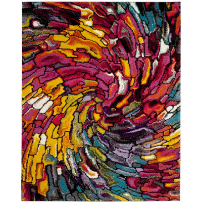 Safavieh Lilly Abstract Shag Rectangular Rugs