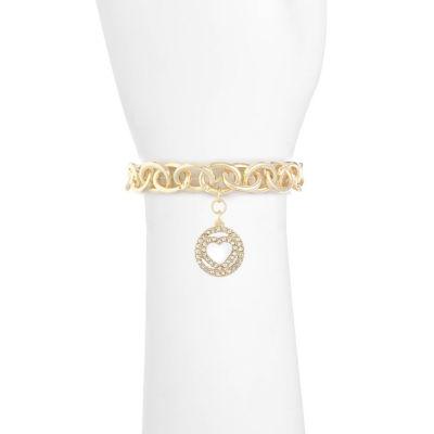 Liz Claiborne Womens Clear Stretch Bracelet