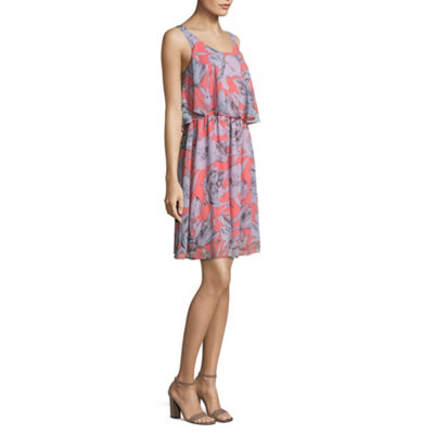 Belle + Sky Sleeveless Shirt Dress