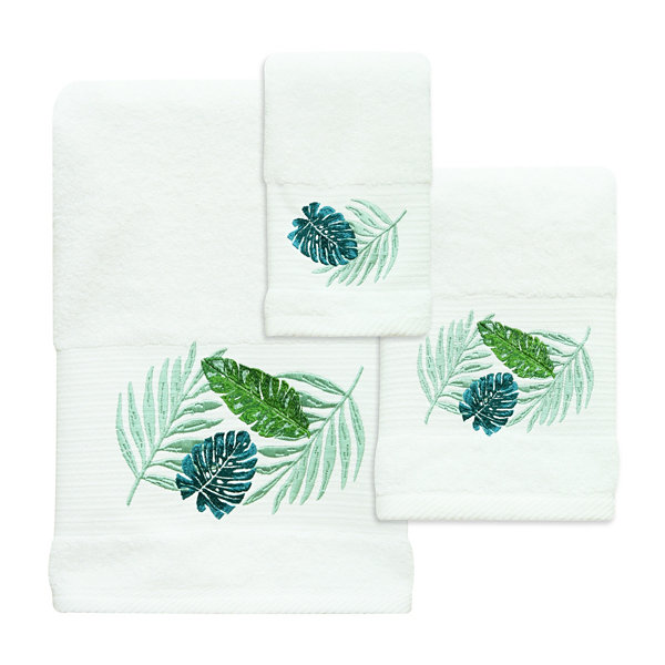 Bacova Guild Kauai Embroidered Bath Towel