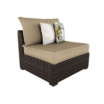 Outdoor by Ashley® Spring Ridge Set of 2 Armless Patio Chairs with Cushions