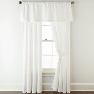 Liz Claiborne Rod-Pocket Curtain Panel