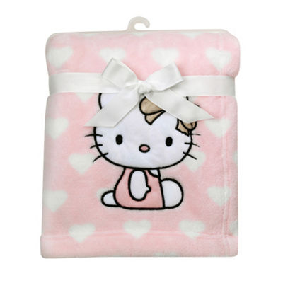 Hello Kitty Baby Blankets
