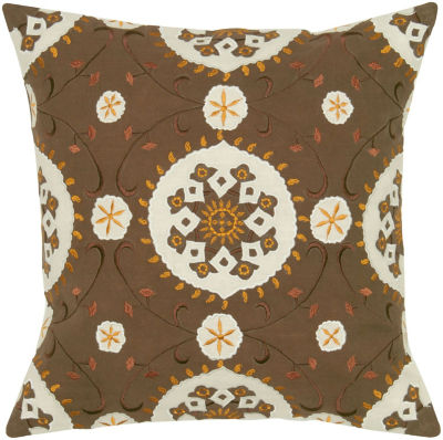 Rizzy Home Rush Payton Medallion Decorative Pillow