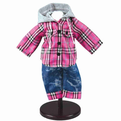 The Queen's Treasures Farm Fresh Jean Outfit; 18 Inch Doll Clothes