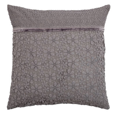 Rizzy Home Joaquin Floral Decorative Pillow