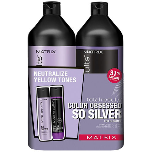 2-Piece Matrix Total Results Tr Sosilver Ltr Duo