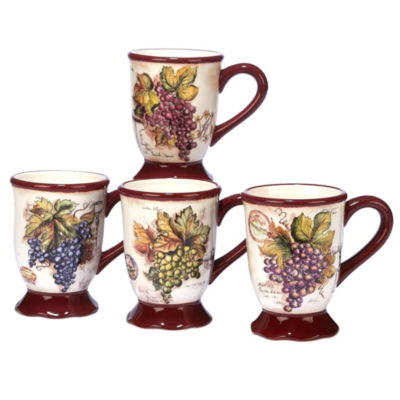 Certified International Vintners Journal 4-pc. Coffee Mug