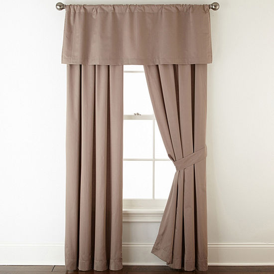 Liz Claiborne Rod-Pocket Single Curtain Panel